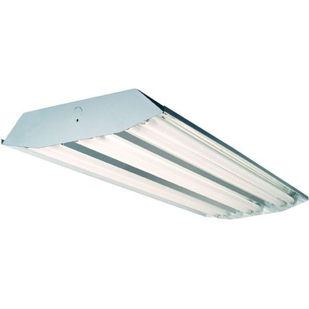 Howard Lighting HFA3A6LT8 - HFA3 High Bay Fluorescent Housing, Standard Specular (86%) Reflector, 6 Lamp T8,