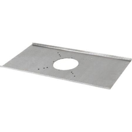 Lowell LBS4-R Tile Bridge-4in Spkr Galvanized Steel Round Opening 23.75L