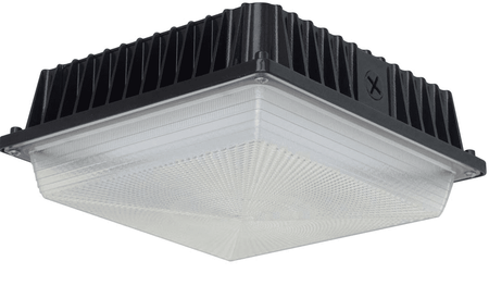 Howard Lighting LCN4050MV - LED Canopy, 38 Input watts, 5000K Color, 120-277V 60Hz