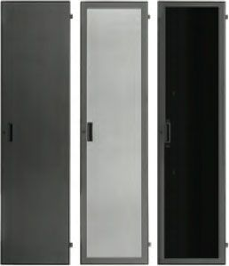 Lowell LFD-44P Door-Plexiglass Front-44U Locking Black
