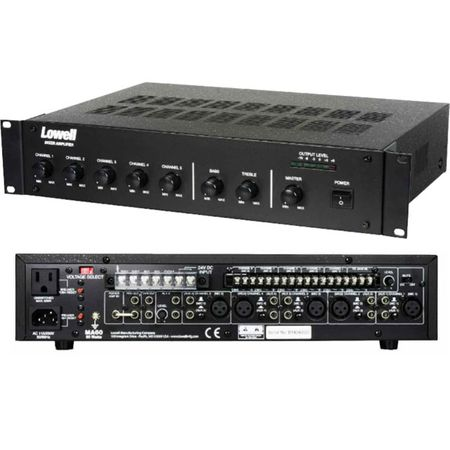 Lowell MA60 60W Mixer Amplifier