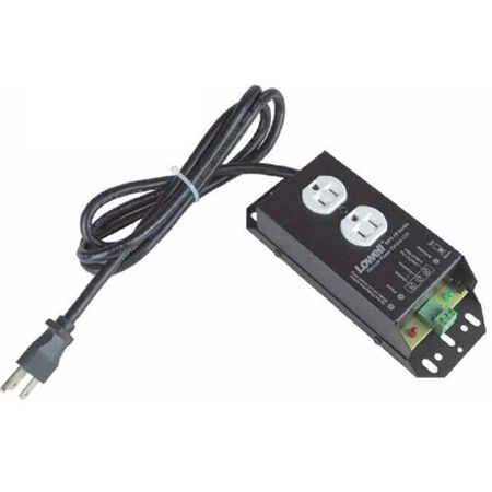 Lowell RPC-15 Remote Power Control-15A 1 Duplex Outlet 6ft Cord
