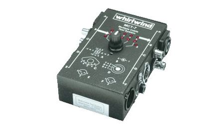 Whirlwind MCT-7 - Tester - cable, NL4, midi, BNC, XLR, TRS, RCA, 3.5mm