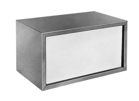 Bud Industries MD-1960 - Small Metal Electronics Enclosures-MD series-Futura Boxes-L13 X W7 X D8