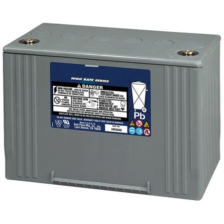 MK UPS Battery HR3500 - 12 Volts, Amp Hour, 370 Watts/Cell 15 Minute Rate