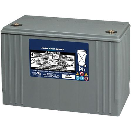 MK UPS Battery HR4000 - 12 Volts, Amp Hour, 420 Watts/Cell 15 Minute Rate