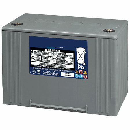 MK UPS Battery 31HR5000 - 12 Volts, 134 Amp Hour, 475 Watts/Cell 15 Minute Rate