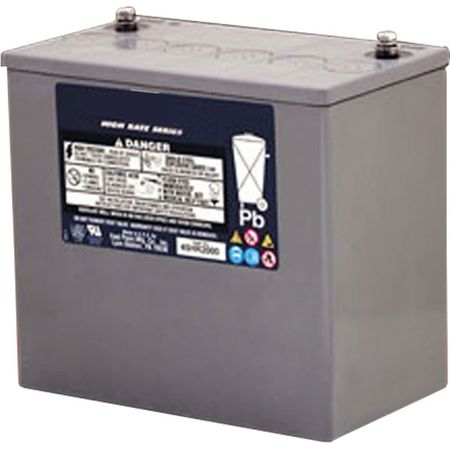 MK UPS Battery 45HR2000 - 12 Volts, 48.8 Amp Hour, 168 Watts/Cell 15 Minute Rate