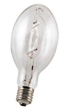 Howard Lighting MP100/U/MED 100W Clear Medium Base Protected MH ED17-P Lamp