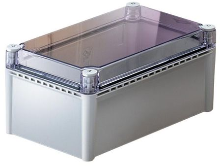 Bud Industries NBD-10465 - NEMA 4X Enclosures-NBD series-UL/NEMA/IEC IP67-L15 X W8 X D7