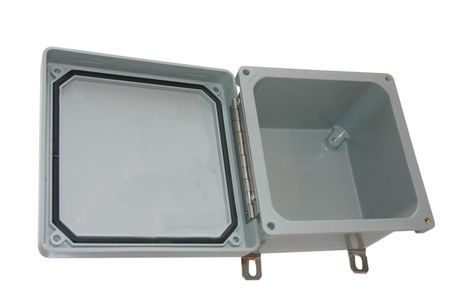 Bud Industries NF-6612 - NEMA 4X Enclosures-NF series-NEMA Fiberglass Enclosure-L12 X W10 X D7