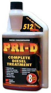 PRI-D 32-oz - Diesel Stabilizer Treatment 512 gallons