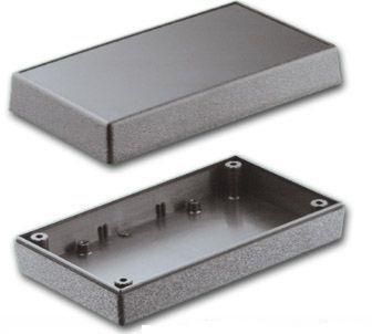 Bud Industries PS-11553-B - Plastic Boxes-PBS series-Plastibox Style F Textured body with smooth top-L7 X W5 X D2