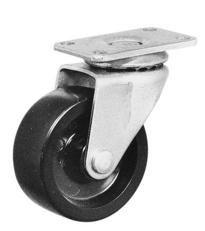 Bud Industries RC-7758-PR - Electronics Enclosure Accessories-RC series-Accessories Extra Heavy Duty Casters-L4 X W3 X D3
