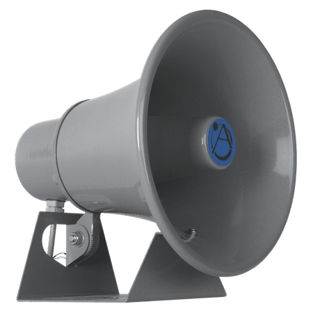 Atlas Sound RCMR-15 - Mobile Communications Loudspeaker 15W @ 8? w/ Fixed and Adjustable Mount