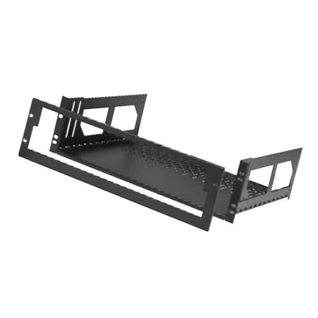 Lowell RMK418-LFP Rack Kit Hinged Shelf-4U 18in D (no face plate)