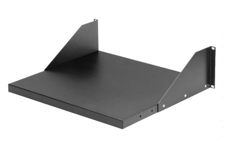 "Bud Industries SA-1279-BT - 19 inch Rack Shelves-SA series-Accessories 19"" Adjustable Shelf-Open Rack-L20 X W18 X D5"