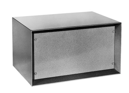Bud Industries SB-2142 - Small Metal Electronics Enclosures-SB series-Shadow Cabinets-L10 X W17 X D11