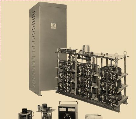 Staco SD1010 - Variable Transformer, Single Phase, 10Ao, 0-120Vo, 1.2kVA, Open, Panel Mt