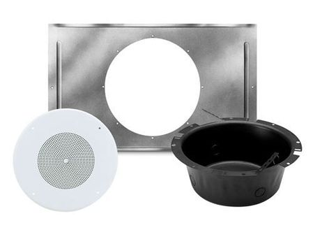 "Atlas Sound SD72WV-KIT - 8"" In-Ceiling Speaker Package, with Enclosure and Tile Bridge"
