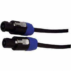 Whirlwind SK5100G12 - Cable - Speaker, NL4 Speakon to NL4 Speakon, 100', 12 AWG, wired 1+ / 1-