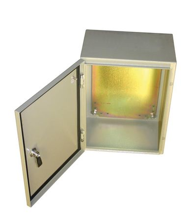 Bud Industries SNB-3735 - NEMA 4X Enclosures-SNB series-NEMA 4X Sheet Metal Boxes-L16 X W12 X D6