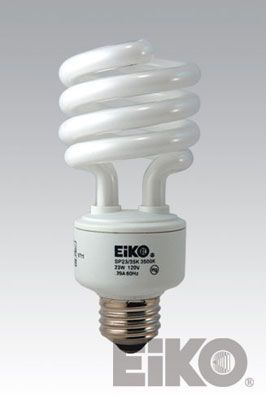 Eiko SP23/65K 23W 120V 6500K Spiral Shaped - Cfli