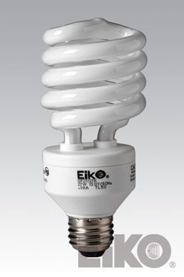 Eiko SP27/50K 26W 120V 5000K Spiral Shaped - Cfli