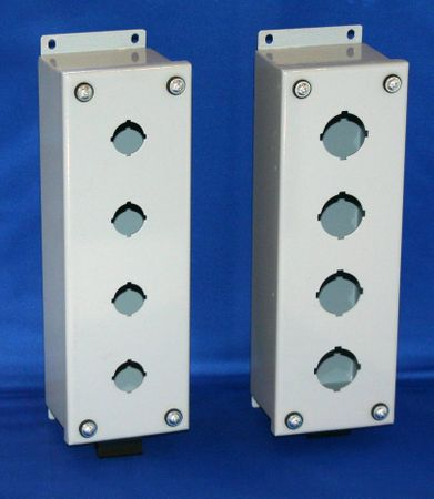 Bud Industries SPB-3923 - Push Button Boxes (Steel)-SPB series-Metal NEMA Enclosures-L8 X W3 X D3