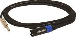 """Whirlwind STM15 - Cable - Adapter, 1/4"""" TRSM to XLRM, 15', Accusonic+2"""