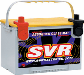SVR Standard AGM Car Batteries