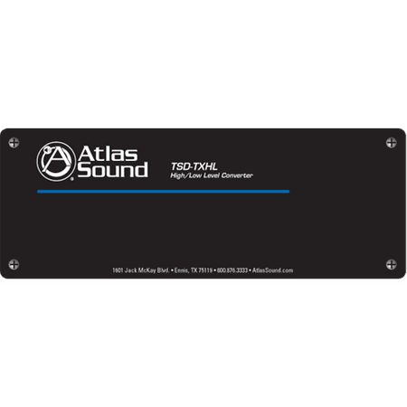 Atlas Sound TSD-TXHL - High / Low Level Converter
