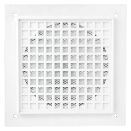 "Atlas Sound VP161A-R4 - Recessed Vandal Proof Baffle for 4"" Cone Loud Speakers"