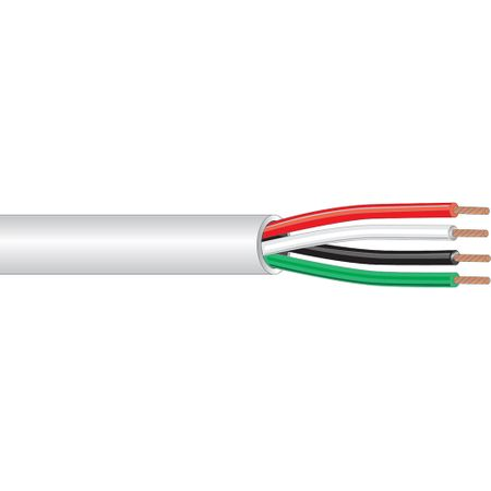 West Penn Wire 25244BGY0500 - 4 Cond 18 (7X26) Bare Cmp