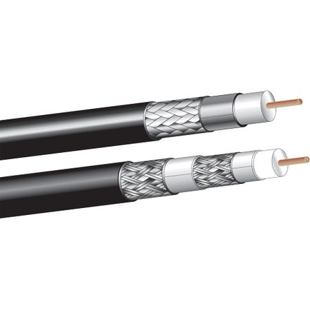 West Penn Wire 6350BK1000 - Rg-6 18 Solid Bare Cmr Sdi Coax