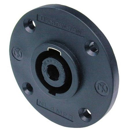 West Penn CN-NL4MPR SPKON 4 Pole Panel Mount Audio Connector