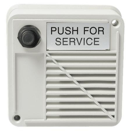 Atlas Sound WPVT-1SN - Outdoor Surface Mount Intercom Stations with Compression Driver and Call Switch 15W 8 ohms