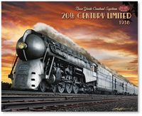 20th Century Limited 1938 by Larry Grossman