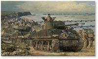 Advance from Arromanches by Simon Smith