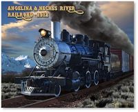 Angelina & Neches River Railroad by Larry Grossman