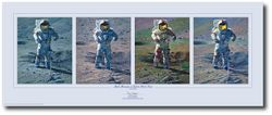 Apollo Moonscape, An Explorer Artist's Vision by Alan Bean