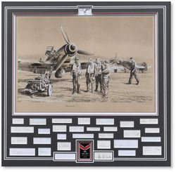 Camaraderie by Robert Taylor (Me109)