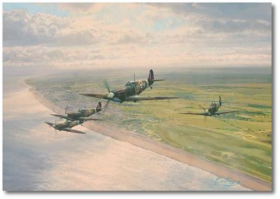 Channel Sweep by Robert Taylor (Spitfire)