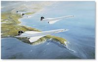 Concorde Formation by Robert Taylor