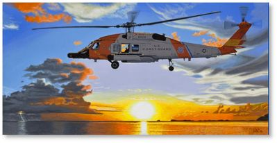 Dawn Patrol by David Mueller (MH-60)