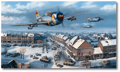 Defenders of Bastogne by Nicolas Trudgian