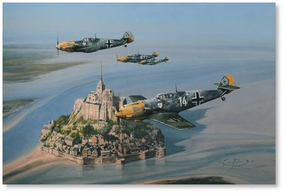 Eagles of the West by Robert Taylor (Bf109)
