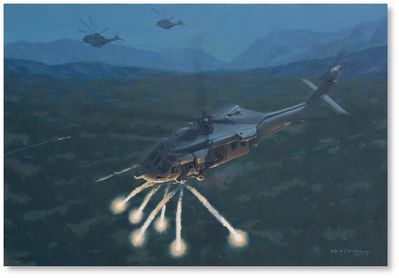 Evasive Maneuvers by Brian Bateman (MH-60G)