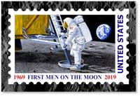 First Men on the Moon by Chris Calle