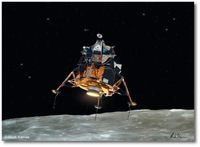 "First True Spacecraft by Mark Karvon (Apollo 11 ""Eagle"")"